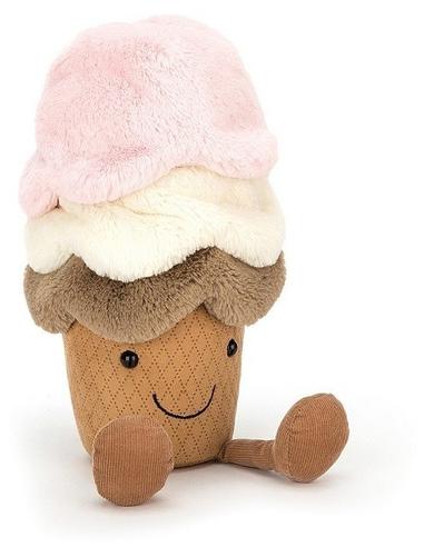Jellycat Knuffel Amuseable Ice Cream