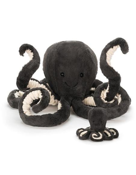 Knuffel Inky Octopus Medium 49 CM