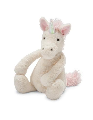 Jellycat Knuffel Bashful Unicorn Medium
