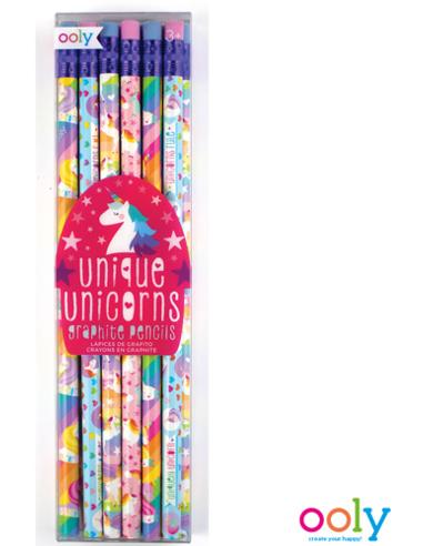 Unicorn Potloden (12 stuks)