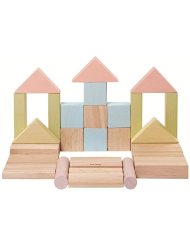 Bouwblokken Pastel (40 stuks)