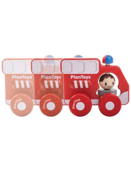 Brandweerwagen met Zwaailicht