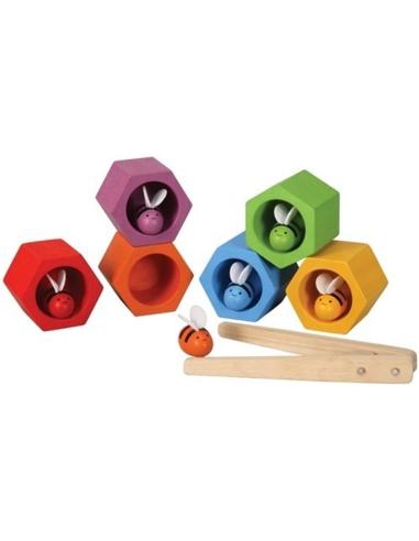 Plan Toys Bijenkorf Behendigheidsspel