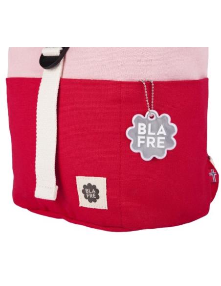 Blafre Roll-top rugzak 1-4 jaar rood + roze