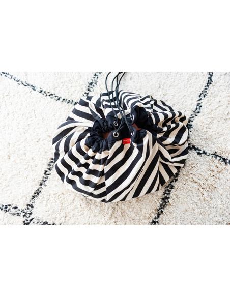 Speelkleed Stripes Black