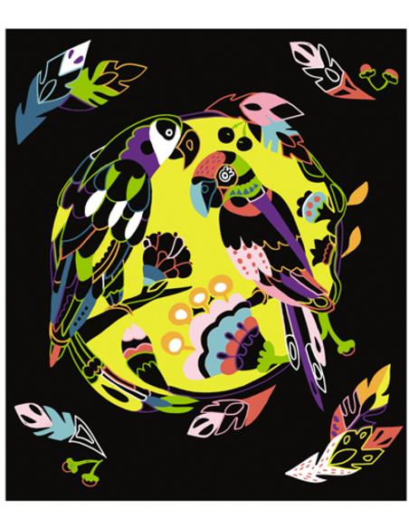 Scratch Art - Dieren van de Wereld