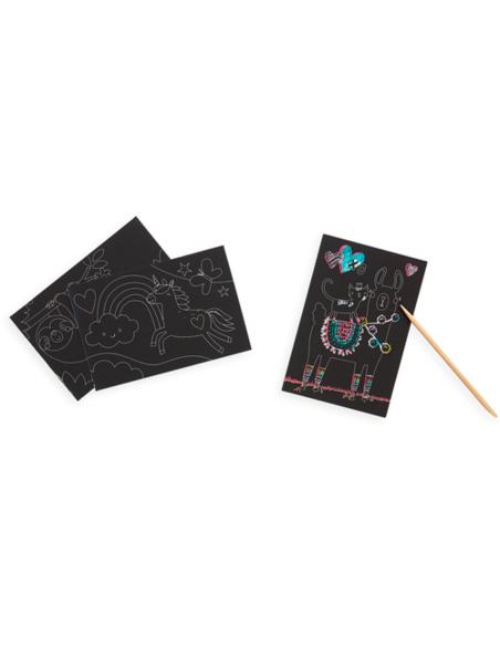 Mini Scratch & Scribble Art Kit - Funtastic Friends