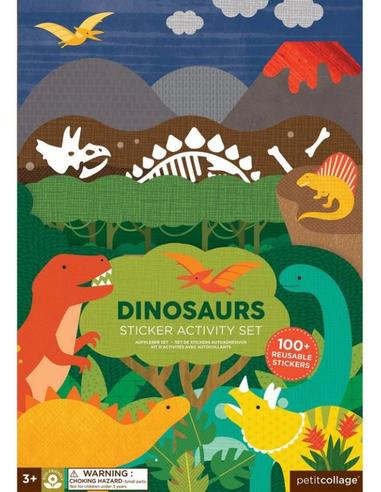 Stickerset Dinosaurus (100 stuks)