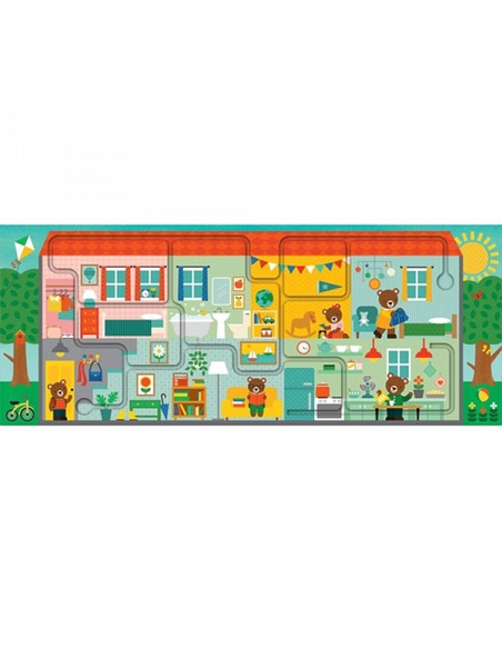 Puzzel Huis (10-delig)