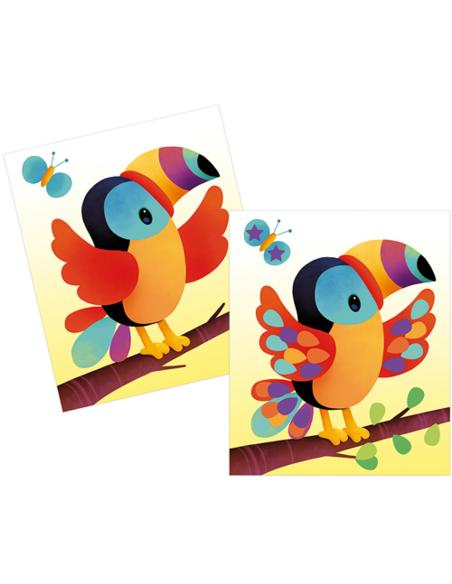 Atelier - Stickers Plakken Dieren Kaarten