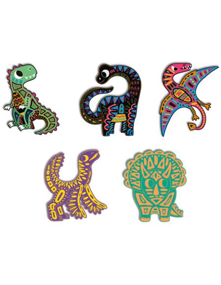 Scratch Art - Dinosaurus