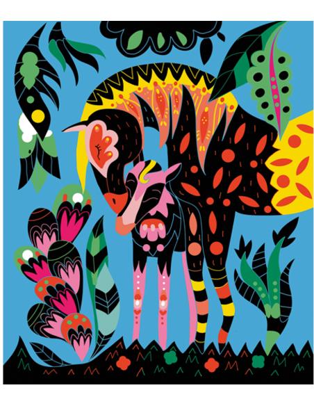 Scratch Art - Paarden en Eenhoorns