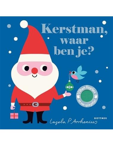 Kerstman waar ben je (karton) 2+