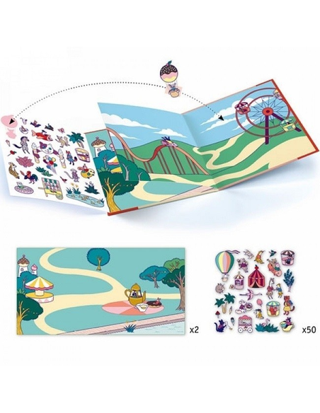 Stickerboekje Kermis
