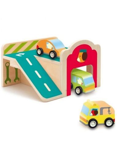 Speelhuisje Mini Garage