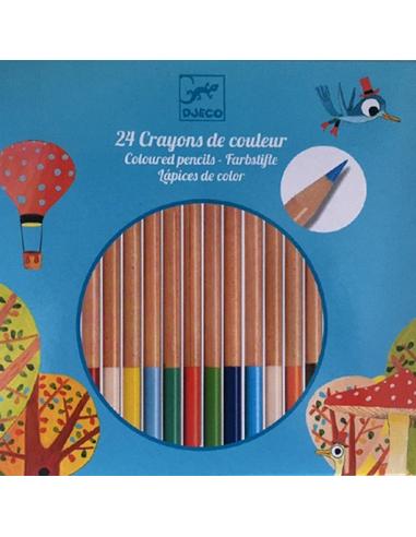 Kleurpotloden (24 stuks)