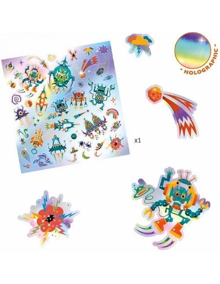Stickers Galaxy in de Ruimte (30 Stuks)