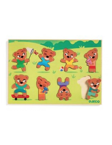 Puzzel Teddymatch