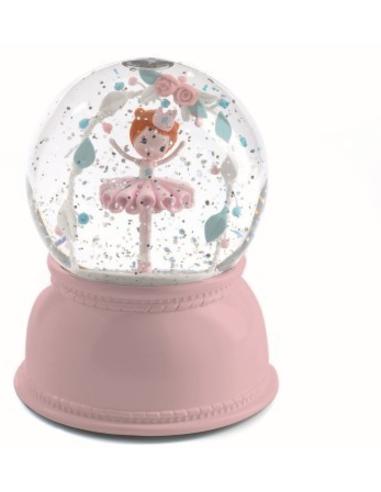 Sneeuwbol Nachtlampje Ballerina