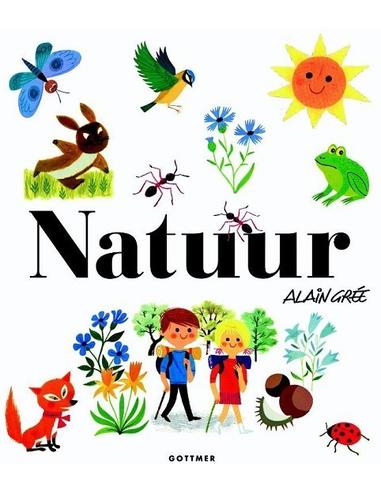 Natuur, peuterboek in retro-look 3+