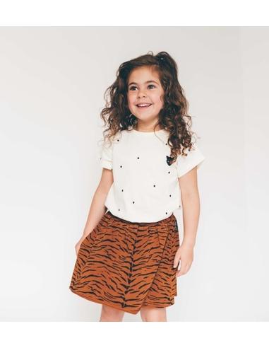 Skirt print Tiger