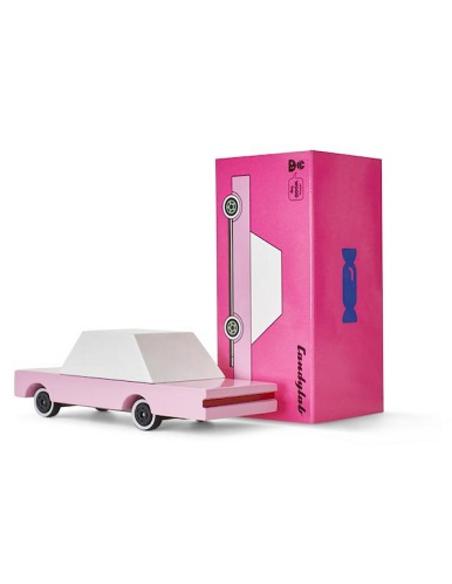 Candycar Pink Sedan