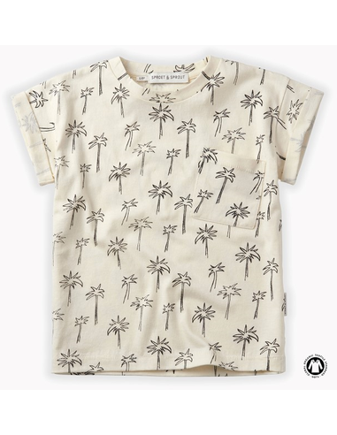 T-shirt print Palm Tree