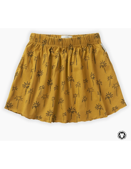 Skirt print Palm Tree