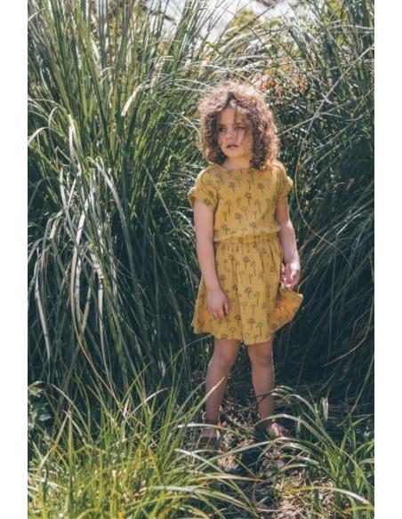 Dress print Palm Tree