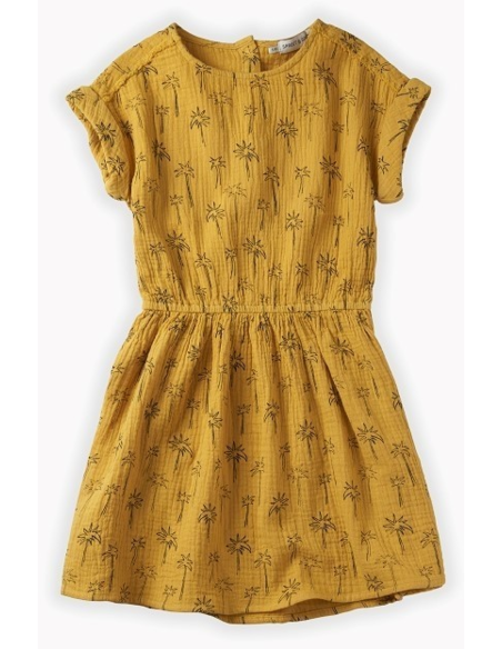 Dress print Palm Tree