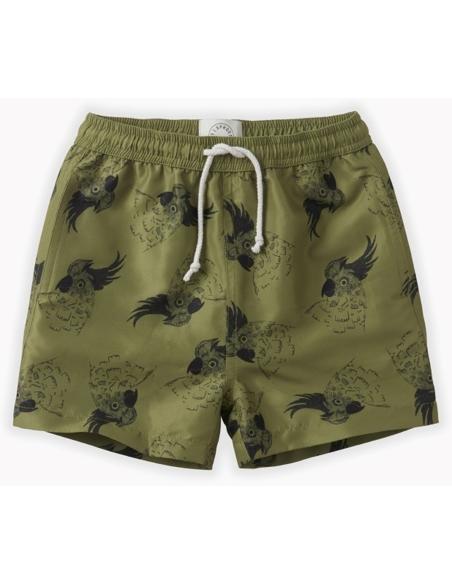 Swim shorts print Cockatoo
