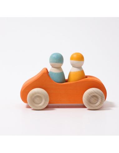 Auto Cabriolet Oranje Groot