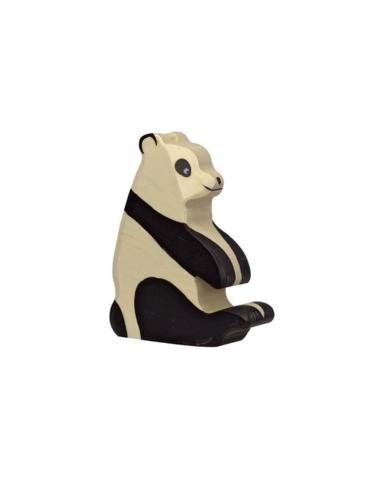 Pandabeer zittend