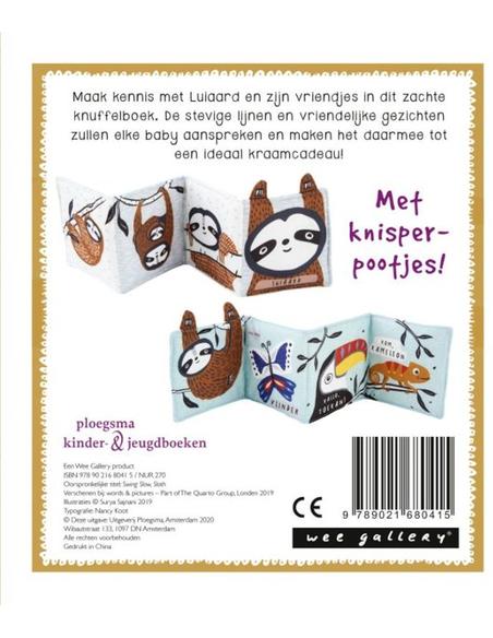 Soft Book Luiaard