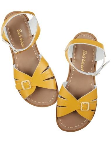 Salt Water Sandals Classic Mustard Adult