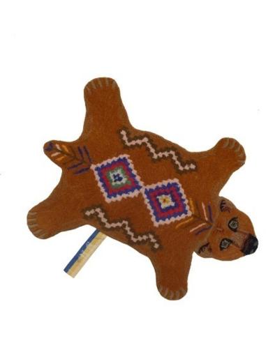 Vloerkleed Berber Grizzly Bear Small
