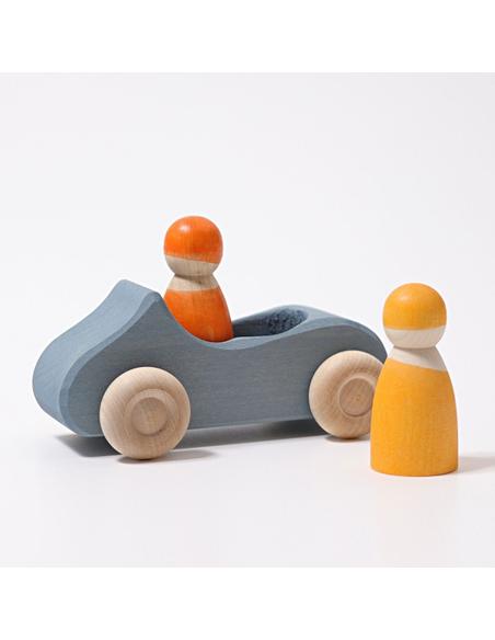 Auto Cabriolet Blauw Groot