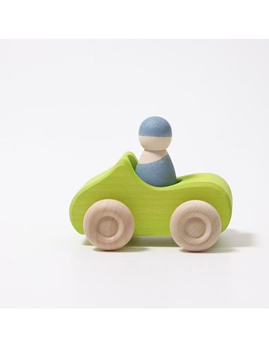 Auto Cabriolet Groen Klein