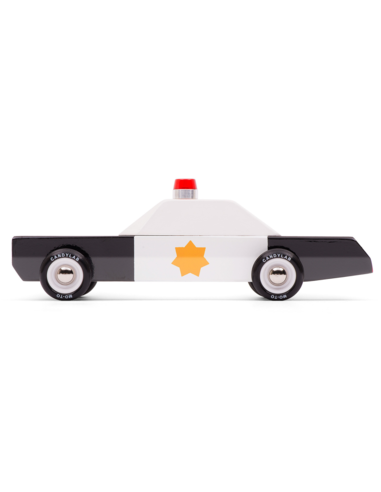 Candylab Toys Police Cruiser