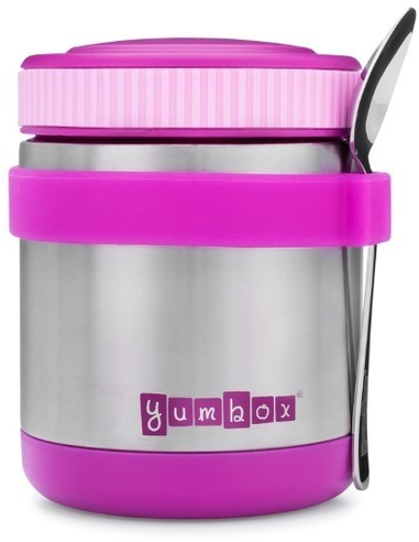 Zuppa Thermos Container met Lepel Paars