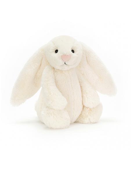 Knuffel Bashful Cream Bunny Medium