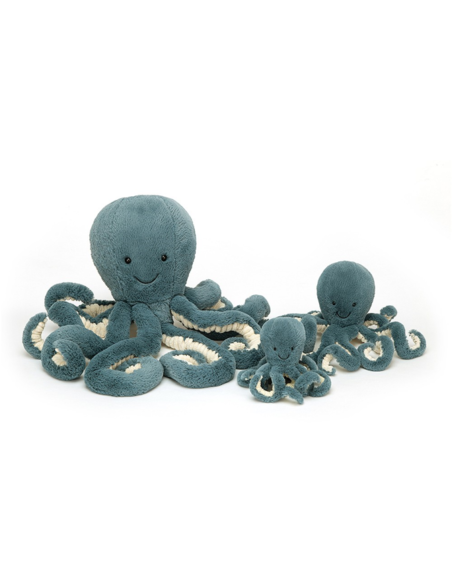 Knuffel Storm Octopus Baby 14 cm