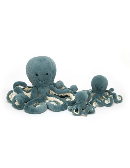Knuffel Storm Octopus Little 23 cm