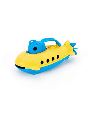 Green Toys Onderzeeër met blauw handvat
