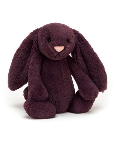 Knuffel Bashful Plum Bunny Medium