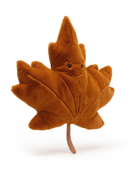 Knuffel Woodland Maple Leaf