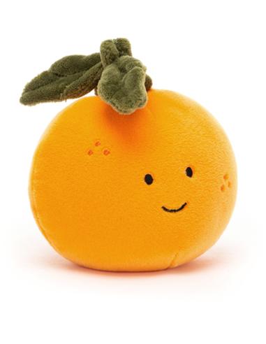 Knuffel Fabulous Fruit Orange