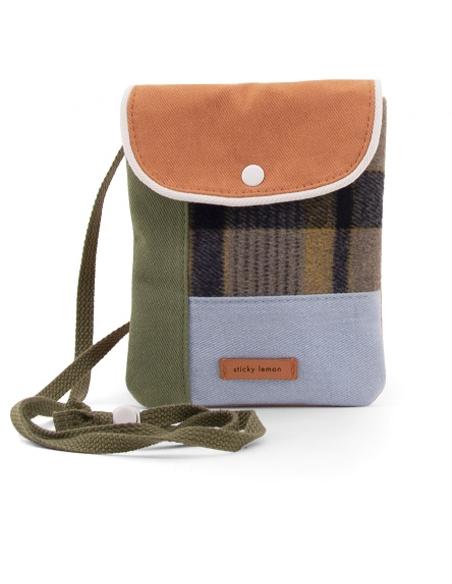 Wallet Bag - Wanderer sandy beige checks