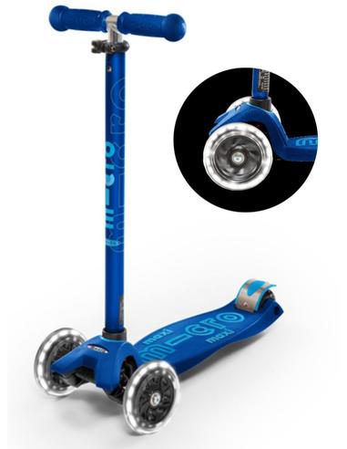 Micro Step MAXI Marineblauw + LED