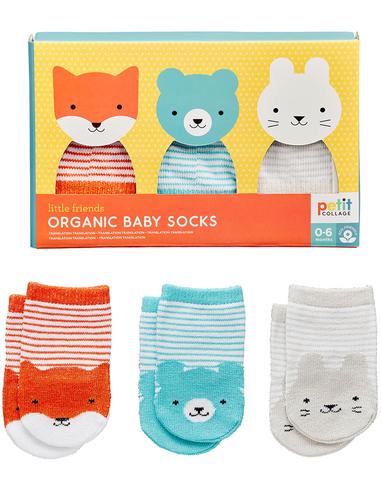 Organic Baby Sokken (3 paar)